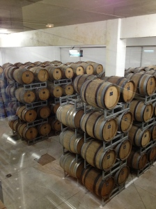 Barrels at Nicolas Feuillatte