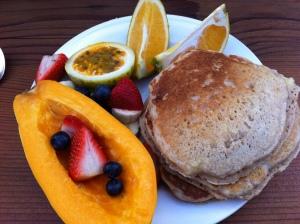 Strawberry Guava breakfast