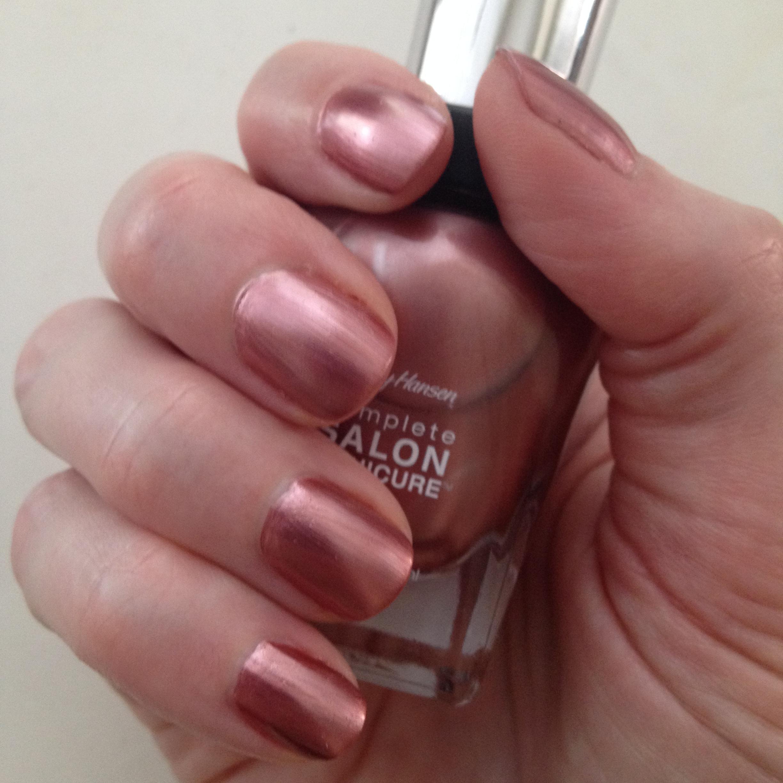 In re sally hansen complete salon manicure risa 39 s pieces for Salon manicure