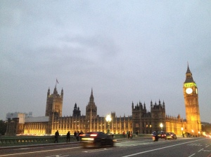 Parliament and Big Ben.