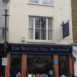 The Notting Hill Bookshop.