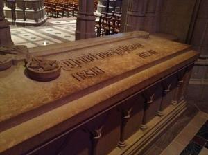 President Wilson's tomb.