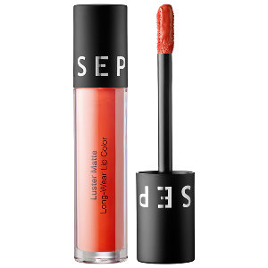 Sephora Luster Matte Lip Gloss in Coral