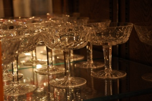 Champagne coupe by Kimberly Vardeman. CC BY 2.0