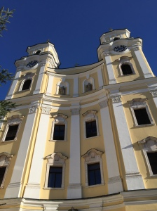 Cathedral in Mondsee where Maria and Captain Von Trapp were married.